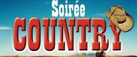 SOIRÉE COUNTRY  au Restaurant L'impact a Saint-Hubert,