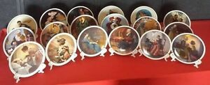 Norman Rockwell Mothers day Plates 1976-1993