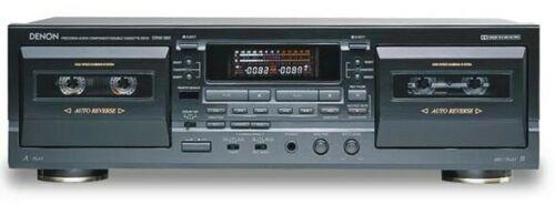 Vintage Denon dual tape deck DRW-585