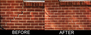 Bricklayer- All types of bricks repairs, joints, sills and more