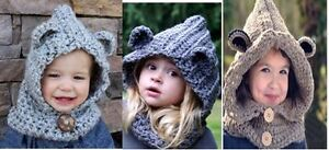 handmade animal hats, scoodies,  infinite scarf, hooded scarf