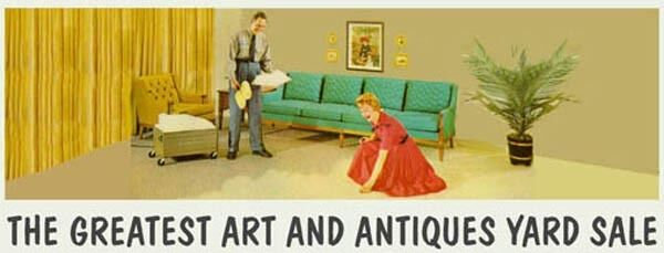 Greatest Art and Antiques Yard Sale