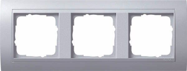 Gira 021336 Abdeckrahmen 3fach Farbe alu Event Farbe Aluminium
