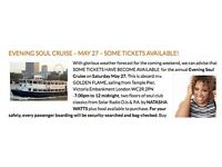 Solar Radio Thames Boat Cruise Tickets