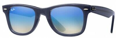 Authentic Ray-Ban WAYFARER EASE RB4340 6232/4O 50mm Blue / Blue Gradient (Ray Ban Brown Mirror)