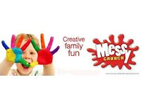 Messy church - fun and rewarding