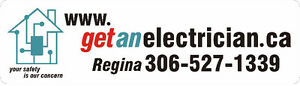 Electrician-www.GetAnElectrician.ca-YOUR SAFETY IS OUR CONCERN Regina Regina Area image 1