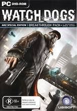 Watch Dogs ANZ Special Edition - PC DVD-ROM 2014 Como South Perth Area Preview