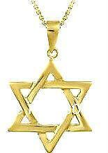 Star of david necklace ebay for Star of david jewelry wholesale