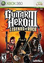 XBOX 360 GUITAR HERO LEGENDS OF ROCK (LOTS OF OTHER TITLES IN STORE)