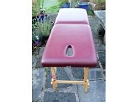Portable treatment/massage table