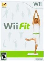 wii fit and game cd or best offer