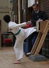 Taekwondo Junior Board Holder (Wooden)