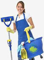 Je m'offre a faire votre ménage, ou vous preparer de bons repas