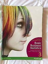 Business Statisitics 3rd edition Malvern East Stonnington Area Preview