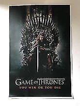 Game of Thrones Canvas print. New.  high quality print.  Sale! Mornington Clarence Area Preview