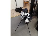 Ryder ZX PLUS oversize golf clubs x 13 + bag good condition first £20 gets them no offers