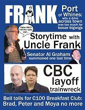 Frank Magazine-Issue 715-Frank Cameron/CBC layoff