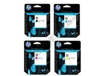 Genuine HP 11-4 color printhead Inkjet Cartridges