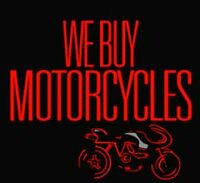 We Buy Bikes!! Selling! Trading! Consignment!