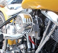 MOONEYES-AIR-CLEANER-LOUVERED-CHOPPER-BOBBER-MOTORCYCLE-CV-HARLEY-WITH-ADAPTER