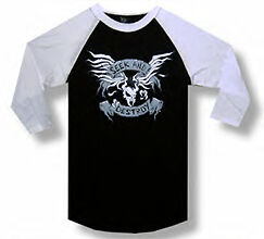 New-Metallica-Seek and Destroy Crest-Lightweight Raglan Jersey  Large T-shirt