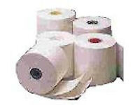 Thermal Till rolls paper for EPOS terminal printer 80mm x 80mm Sutton Coldfield Birmingham