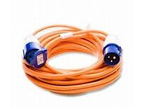 ELECTRIC HOOK UP CABLES 25M LONG
