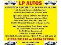 LP Autos - Call on 07854627558