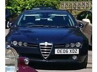Alfa Romeo 159 1.9 JTDM Lusso, Turbo Diesel, Leather Seats, Cruise Control, Aircon, Bose sound....