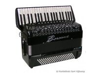 Accordionist for hire - suitable for restaurants,parties,weddings