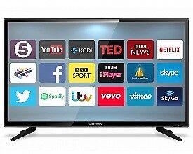 """65""""Techwood tv smart selling it for £460,need quick sale"""
