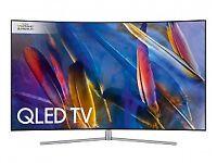 Samsung QE65Q7CAM 65 inch Curved QLED Ultra HD Premium HDR 1500 Smart TV.