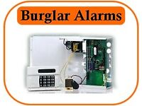 Security/ Burglar Alarm With Installation