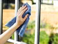 Fall home window cleaning