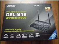 Asus DSL-N16 300MBPS WIRELESS ROUTER