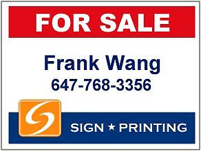 Posts for real estate signs