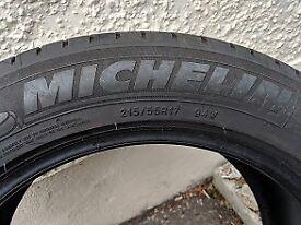 215/55R17 Michelin