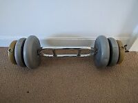 Dumbbells with 3 different weights