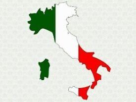 Italian - English exchange