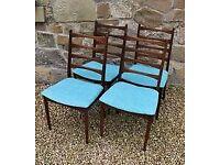 Vintage/Mid Century / retro Dining Chairs x 4