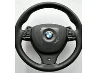 Bmw 5 series f10 steering wheel