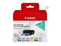 Canon PGI 550/CLI 551 Multipack (was £53, NOW £20)