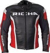 Leather Motorcycle Jacket 40