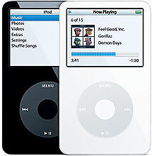 Apple iPod classic 5th Generation White (240 GB)