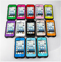 Brand new water proof case for iPhone 4/5/5C/6/6+