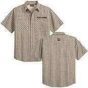 Harley Davidson Mens Short Sleeve Button Shirt
