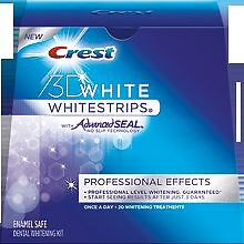 28 CREST 3D Professional Effects White Strips Teeth Whitening GUARANTEED RESULTS