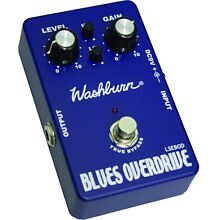 NEW-DISCONTINUED-WASHBURN-BLUES-OVERDRIVE-GUITAR-EFFECT-PEDAL-MODEL-LSEBOD