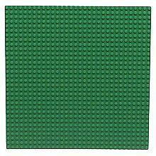 x1 NEW Lego Green Baseplate Base Plate 10 x 10 INCH Brick Building Plate Lot